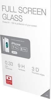 Acme Szkło ochronne hartowane na cały ekran 3D / 9H / 0,33mm do iPhone 7 Plus/8 Plus (białe) 1