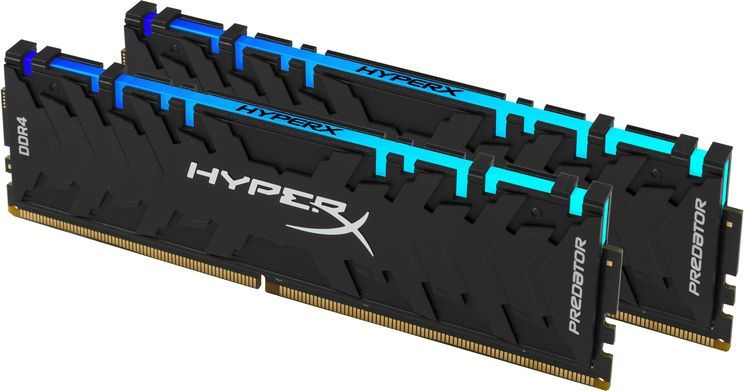 Pamięć HyperX Predator RGB, DDR4, 16 GB, 3200MHz, CL16 (HX432C16PB3AK2/16 ) 1