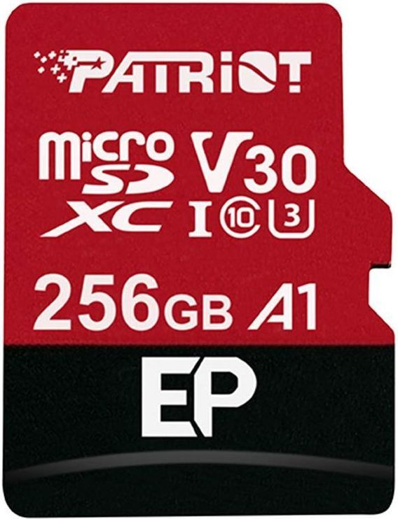 Karta Patriot EP Series MicroSDXC 256 GB Class 10 UHS-I/U3 A1 V30 (PEF256GEP31MCX) 1