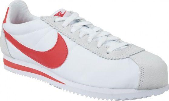 Nike Classic Cortez Nylon biało czerwone r. 40.5 (807472 101) ID produktu: 4863265