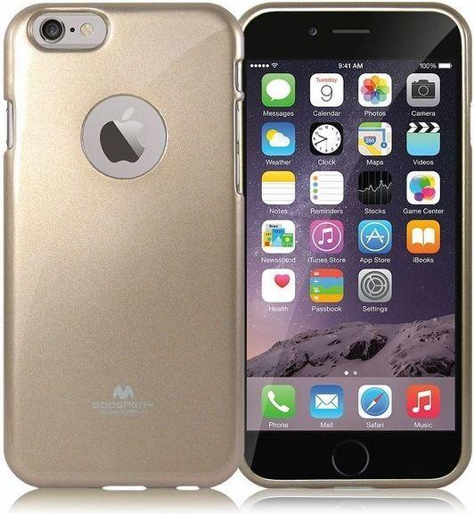 Mercury Jelly Case iPhone 5/5S złoty 1