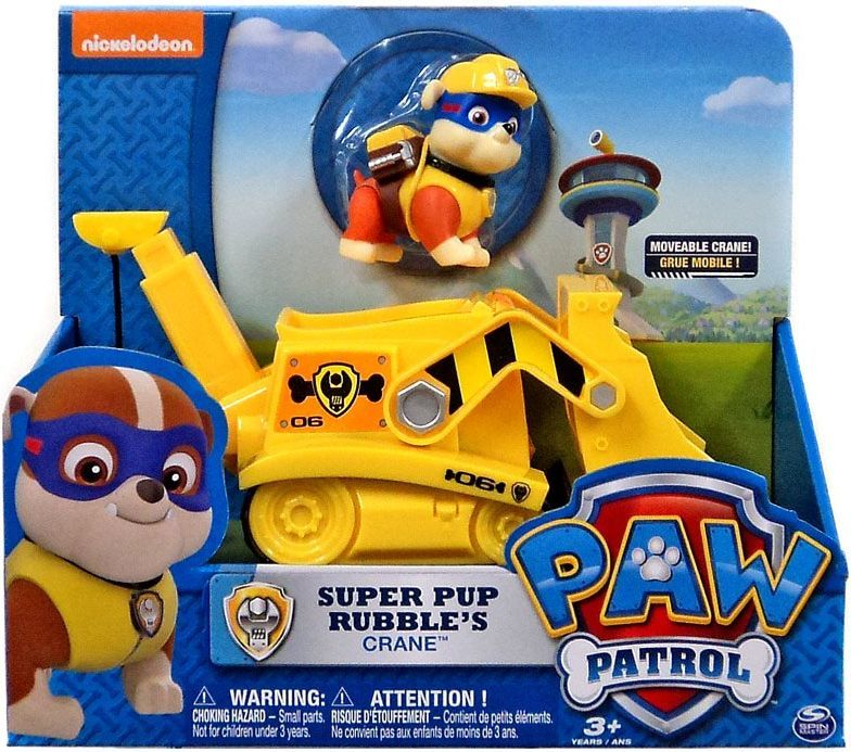 Spin Master Paw Patrol Crane with Rubble 1