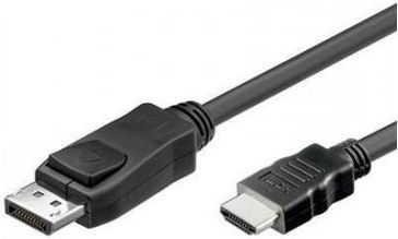 Kabel Techly DisplayPort - HDMI 2m czarny (ICOC-DSP-H12-020) 1