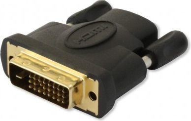 Adapter AV Techly HDMI - DVI-D czarny (IADAP-DVI-HDMI-F) 1