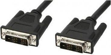 Kabel Techly DVI-D - DVI-D 1.8m czarny (ICOC-DVI-8000) 1