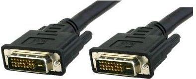 Kabel Techly DVI-D - DVI-D 3m czarny (ICOC-DVI-8130) 1