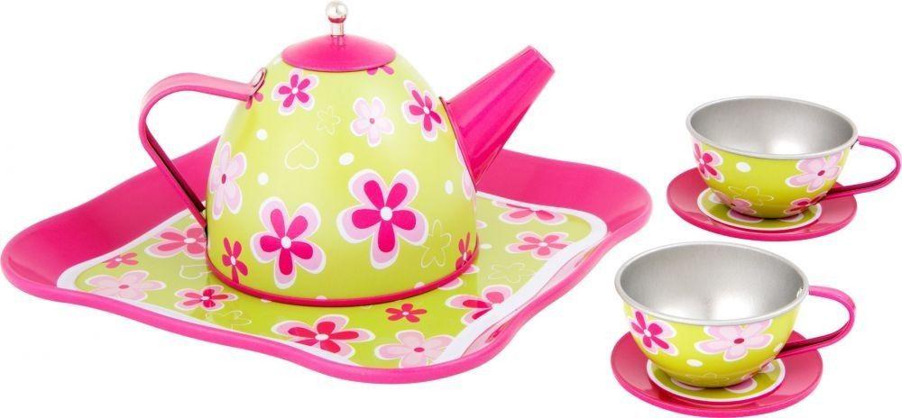 SFD Zestaw do herbatki z kwiatuszkami 1