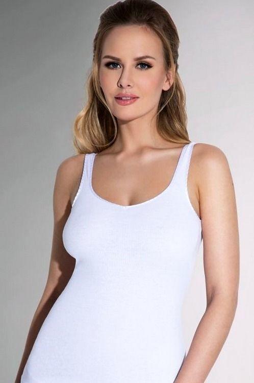 Eldar Koszulka damska Tola biała r. L (ELD-TOLA0-BIA-KBD-3L) 1