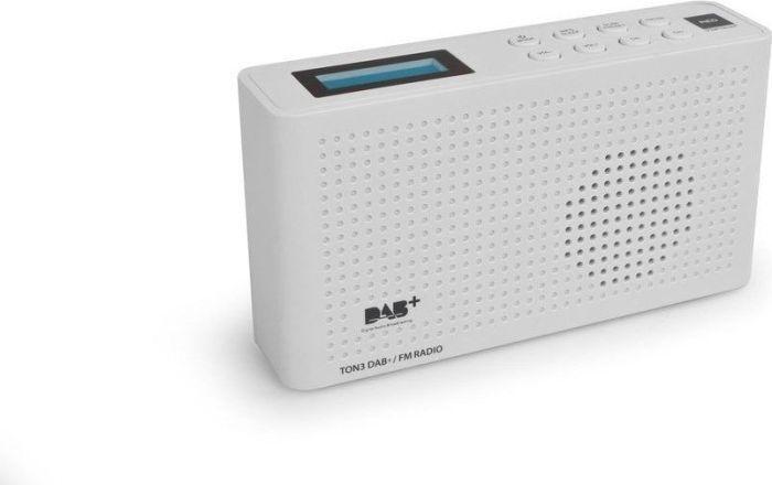 Radio Opticum Opticum Ton-3 - white - DAB plus - VHF - jack 1