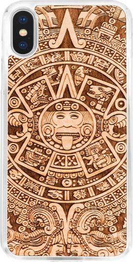 SmartWoods Case Etui Drewniane Aztec Calendar Clear Iphone X 1