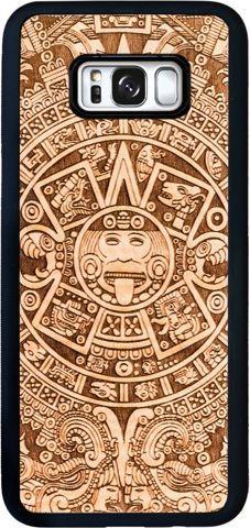 SmartWoods Case Etui Drewniane Aztec Samsung Galaxy S8 Plus 1