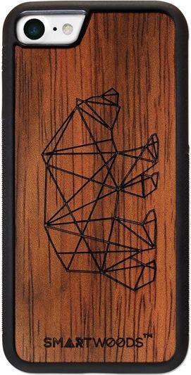 SmartWoods Case Etui Drewniane Bear Active Iphone 7 8 1