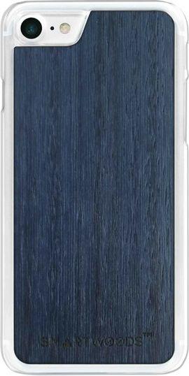 SmartWoods Case Etui Drewniane Blue Sky Clear Iphone 7 8 1