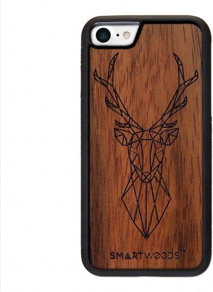 SmartWoods Case Etui Drewniane Deer Active Iphone 7 8 1