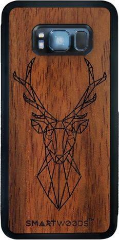 SmartWoods Case Etui Drewniane Deer Samsung Galaxy S8 1