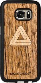 SmartWoods Case Etui Drewniane Triangle Samsung Galaxy S7 1
