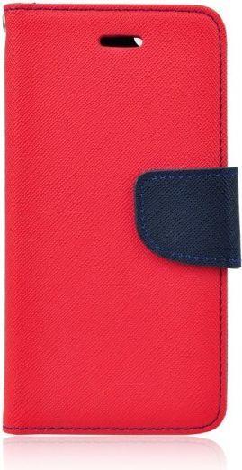 GSM City Etui Fancy Book do Nokia 8 granatowo-czerwone 1