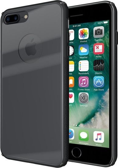 GSM City TEMPERED GLASS CASE IPHONE 7 8 PLUS SZARY 1