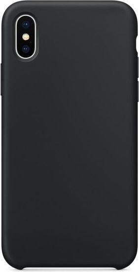 GSM City Nakładka silikonowa do Apple iPhone X czarna 1