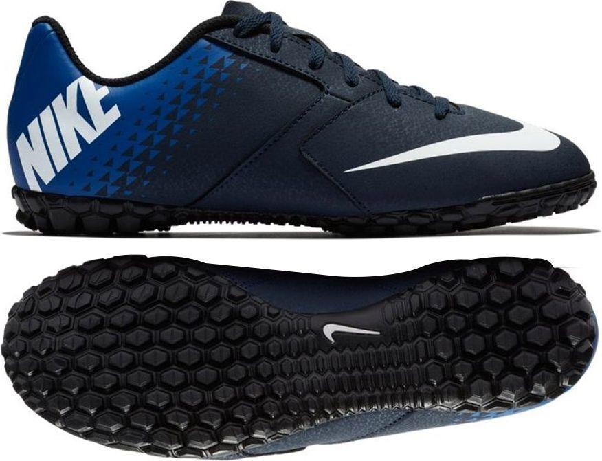 ed934b97 Nike Buty piłkarskieJR BombaX TF granatowe r. 27.5 (826488-414) w  Sklep-presto.pl