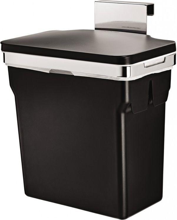 Kosz na śmieci Simplehuman szafkowy 10L czarny (CW1643) 1