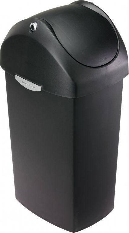 Kosz na śmieci Simplehuman uchylny 60L czarny (CW1333) 1
