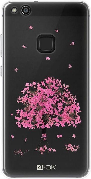 4OK Flower Etui do Huawei P10 Lite 1