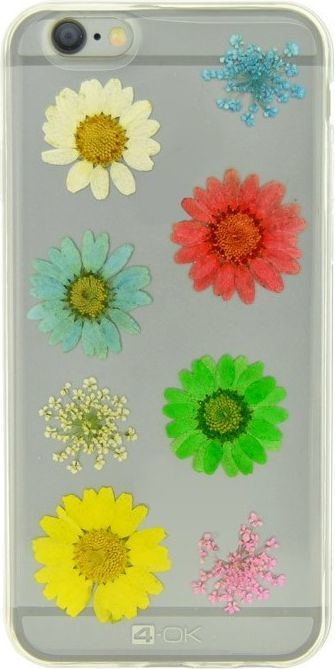 4OK Flower Etui dla iPhone 6/6S 1