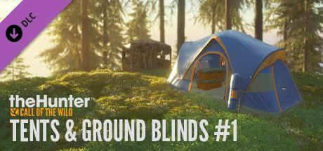 theHunter: Call of the Wild - Tents & Ground Blinds PC, wersja cyfrowa 1