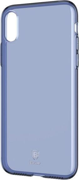 Baseus BASEUS SIMPLE SERIES IPHONE X NIEBIESKIE (ARAPIPHX-B03) 1