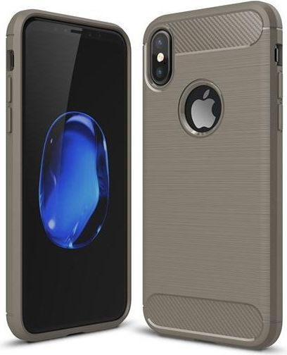 IPAKY IPAKY SLIM CARBON IPHONE X SZARY 1