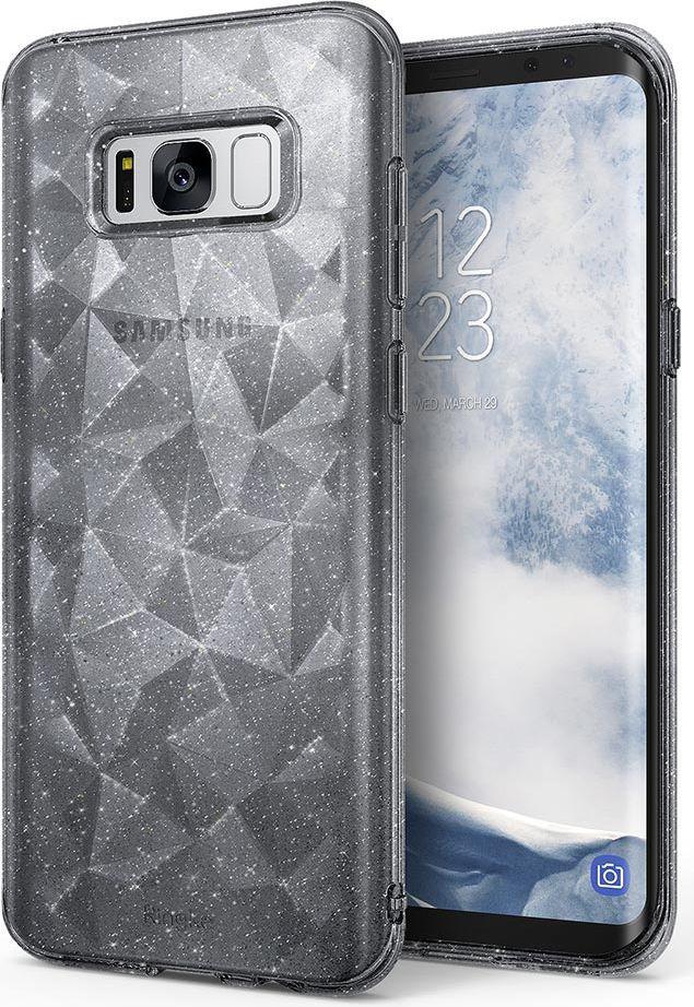 Ringke Ringke Air Prism Glitter błyszczące żelowe etui pokrowiec 3D Samsung Galaxy S8 G950 szary (APSG0010-RPKG) 1