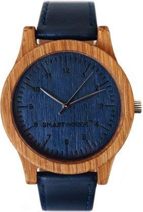 Zegarek SmartWoods Drewniany Classic Dąb Blue 1
