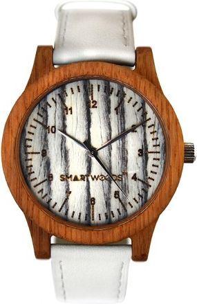 Zegarek SmartWoods Drewniany Classic Dąb White 1