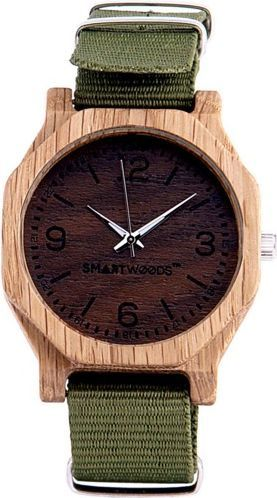 Zegarek SmartWoods Drewniany Hexa Dąb 1