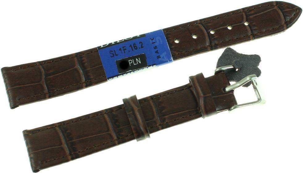 Diloy Skórzany pasek do zegarka 16 mm Diloy SL1F.16.2 1