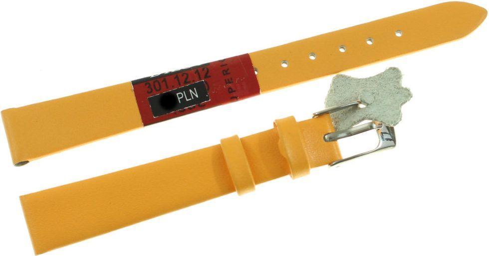 Diloy Skórzany pasek do zegarka 12 mm Diloy 301.12.12.2 1