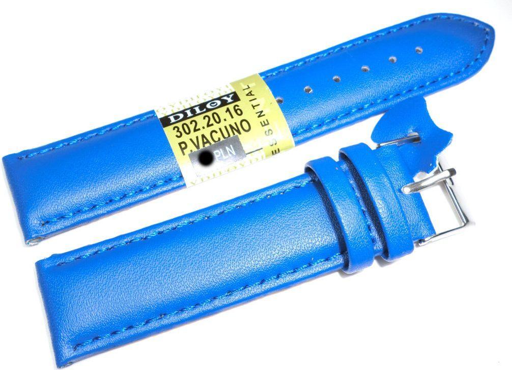 Diloy Skórzany pasek do zegarka 20 mm Diloy 302.20.16 1