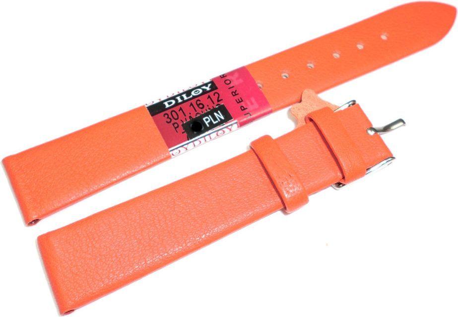 Diloy Skórzany pasek do zegarka 16 mm Diloy 301.16.12 1