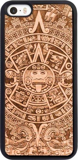 SmartWoods Case Etui Drewniane Aztec Active Iphone 5 5S Se 1