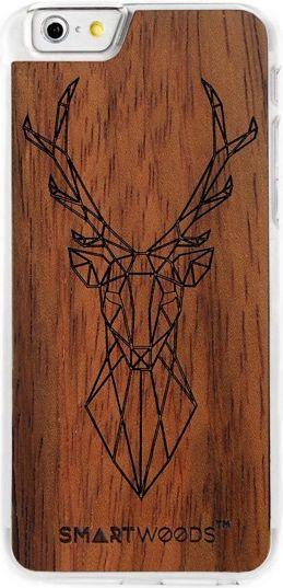 SmartWoods Case Etui Drewniane Deer Clear Iphone 6 6S 1