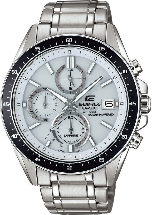 Zegarek Casio Męski EFS-S510D-7AV Edifice Chrono srebrny 1