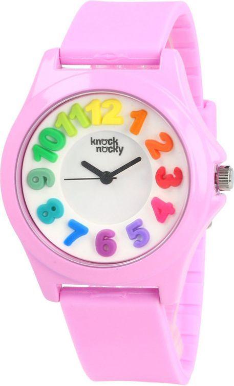 Knock Nocky Kolorowy dziecięcy RB3624006 Rainbow różowy 1