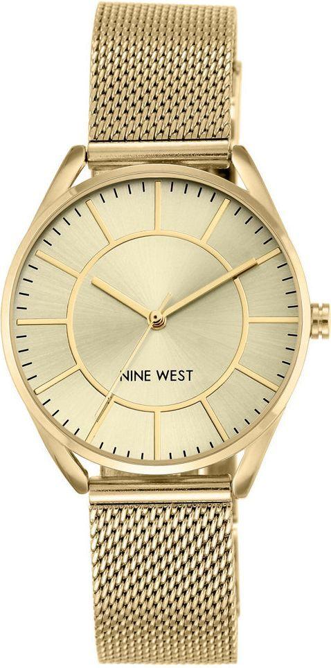Zegarek Nine West Damski NW/1922CHGB Fashion Mesh złoty 1
