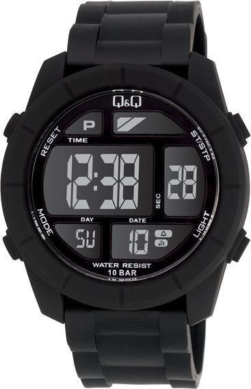 Zegarek Q&Q Męski M123-001 Dual Time czarny 1