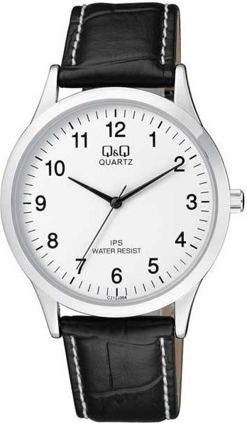 Zegarek Q&Q Męski C212-304 Klasyczny Slim czarny 1