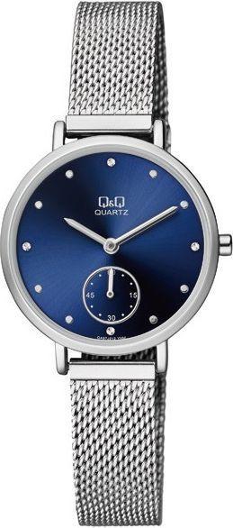 Zegarek Q&Q Damski QA97-212 Fashion Mesh srebrny 1