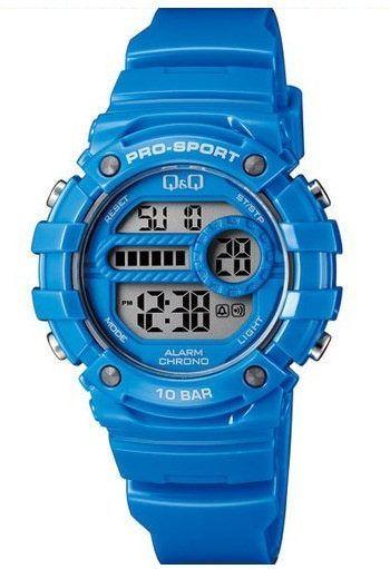 Zegarek Q&Q Damski M154-006 Dual Time niebieski 1
