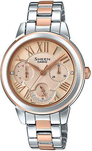 Zegarek Sheen Damski SHE-3059SPG-9AUER Swarovski srebrny 1