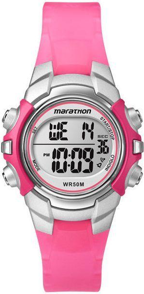 Zegarek Timex Damski Marathon Digital T5K808 różowy 1
